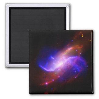 M106 Spiral Galaxy emission NASA Magnet