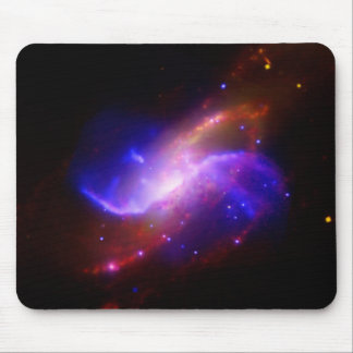 M106 Spiral Galaxy emission NASA Mouse Mat
