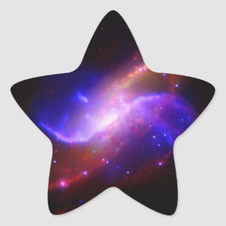 M106 Spiral Galaxy emission NASA Star Sticker