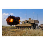 M109A6 Paladin Poster