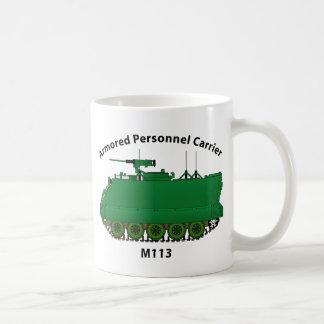 M113-Armored Personnel Carrier APC Basic White Mug