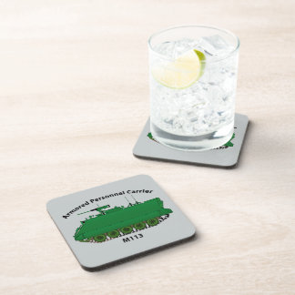 M113-Armored Personnel Carrier APC Beverage Coasters