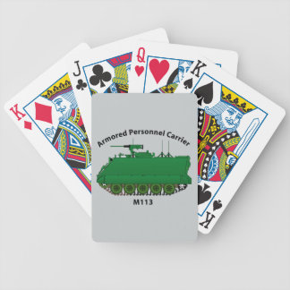 M113-Armored Personnel Carrier APC Bicycle Playing Cards