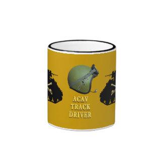 M113 Cavalry Gold ACAV Track Driver Mug