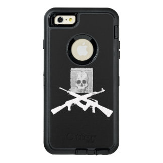 M16 and AK-47 Skull and Crossbones OtterBox Defender iPhone Case