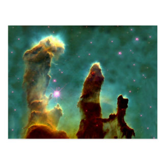 M16 Eagle Nebula or Pillars of Creation Postcard