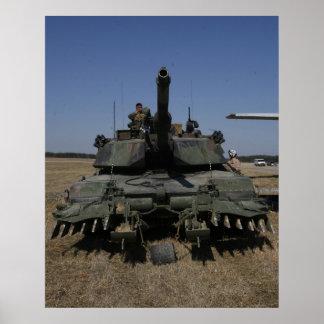 M1-A1 Abrams Poster