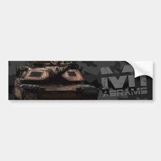 M1 Abrams Bumper Sticker
