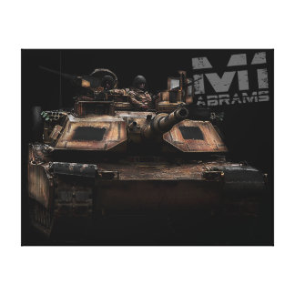 M1 Abrams Stretched Canvas Prints