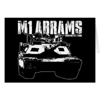 M1 Abrams Greeting Card