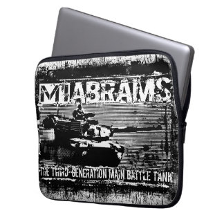 M1 Abrams Neoprene Laptop Sleeve 13 inch