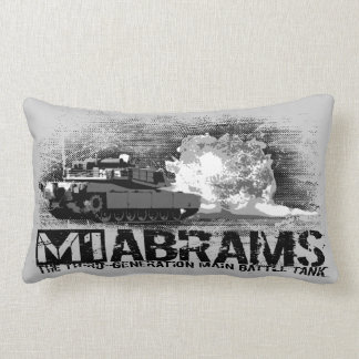 M1 Abrams Throw Pillow Throw Cushion