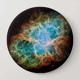 M1-Crab Nebula a Science & Astronomy Gift Idea 10 Cm Round Badge