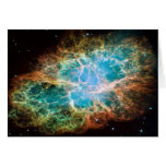 M1-Crab Nebula a Science & Astronomy Gift Idea Note Card