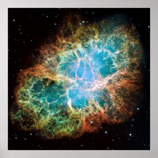 M1-The Crab Nebula Print