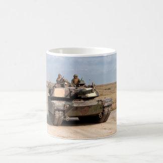 M1A1 Abrams Main Battle Tank Basic White Mug