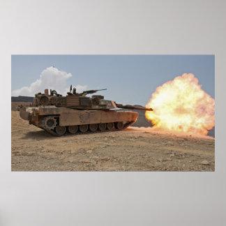 M1A1 Abrams Poster