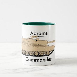 M1A1 Abrams Two-Tone Coffee Mug