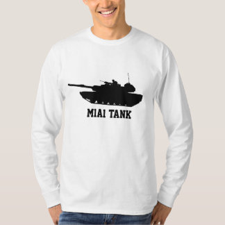 M1A1 Tank Black Long Sleeve