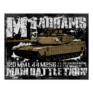 M1A2 Abrams Posters