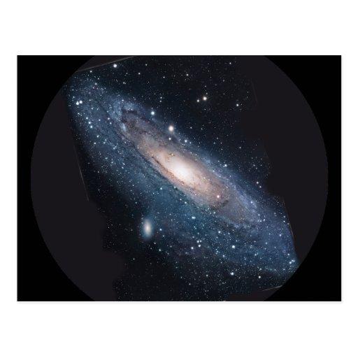 M31 Andromeda Galaxy Postcard