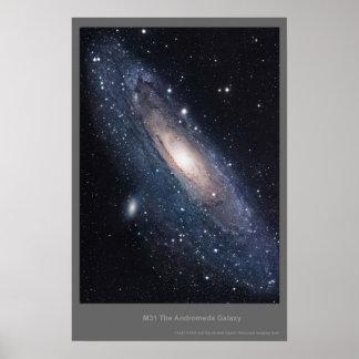 M31 Andromeda Galaxy Poster