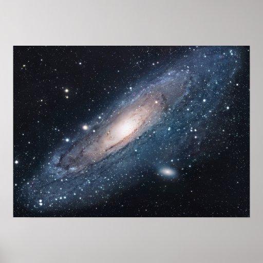 M31 Galaxy in Andromeda Print