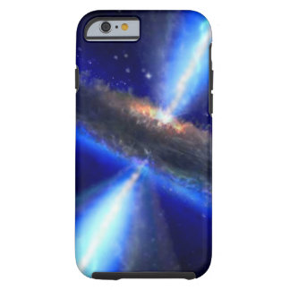 M33 Black hole in space Tough iPhone 6 Case