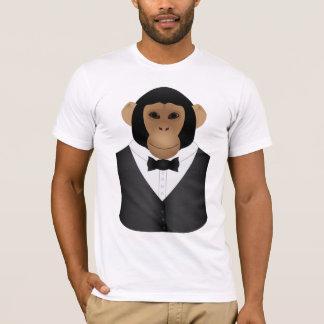 M477-Oscar the Dapper Chimp T-Shirt