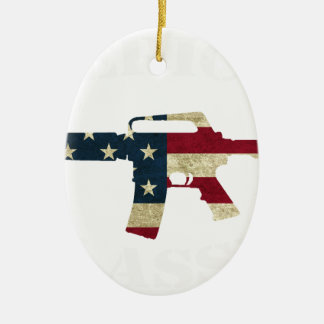 M4 CLASSIC WHITE.png Christmas Ornament