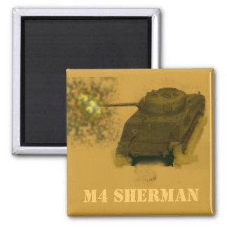 M4 SHERMAN SQUARE MAGNET