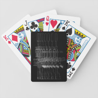 M4 SOPMOD Black Bicycle Playing Cards