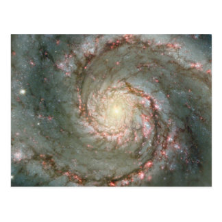 M51 Cosmic Whirpool Postcard