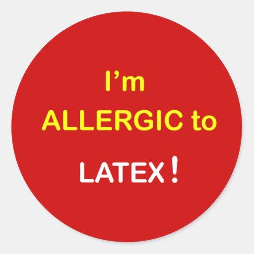 Allergic Latex 47