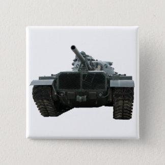 M60 Patton Tank 15 Cm Square Badge
