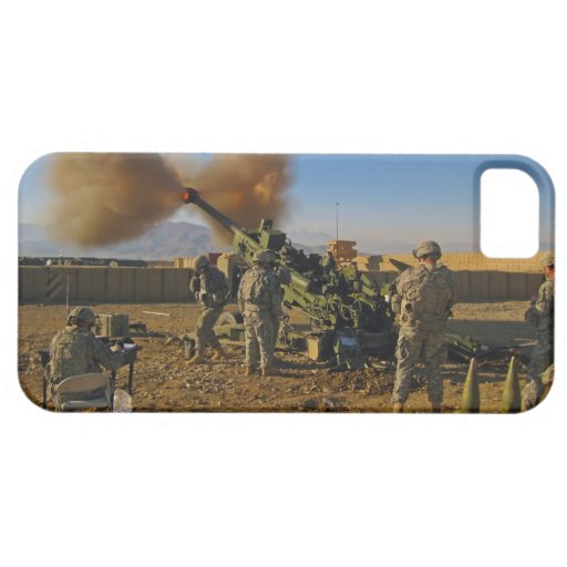 M777 Light Towed Howitzer Afghanistan 2009 iPhone 5 Covers