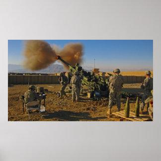 M777 Light Towed Howitzer Afghanistan 2009 Print