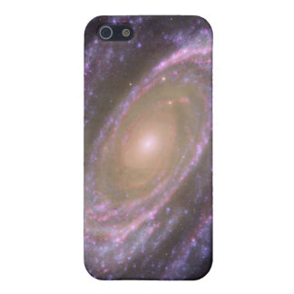 M81 Galaxy is Pretty in Pink iPhone 5 Covers