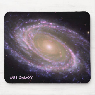 M81 GALAXY MOUSE PAD