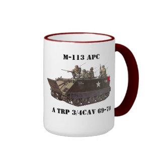 M-113 APC 3/4 Cav Mug
