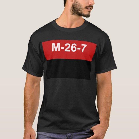 M-26-7 Flag - Bandera del Movimiento 26 de