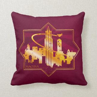 M.A.C.U.S.A. Graphic Badge Cushion