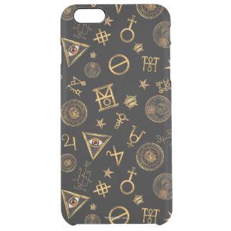 M.A.C.U.S.A. Magic Symbols And Crests Pattern Clear iPhone 6 Plus Case