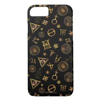 M.A.C.U.S.A. Magic Symbols And Crests Pattern iPhone 8/7 Case
