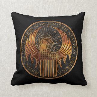 M.A.C.U.S.A. Medallion Cushion