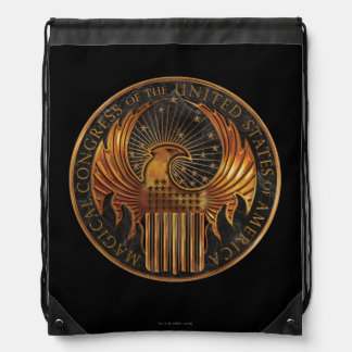 M.A.C.U.S.A. Medallion Drawstring Bag