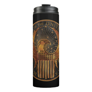 M.A.C.U.S.A. Medallion Thermal Tumbler
