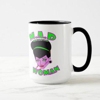 M.A.D. Woman (SINGLE MOM) Mug