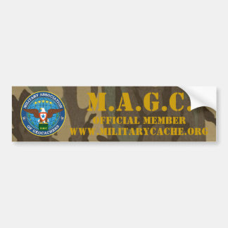 M.A.G.C. OFFICIAL MEMBER BUMPER STICKER