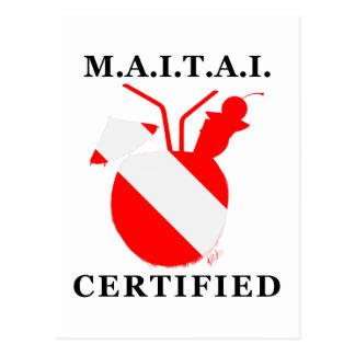 M.A.I.T.A.I. Certified Postcard